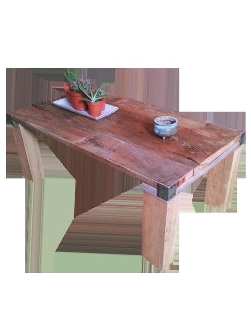 Atelier b mobilier luminaire en mat riaux de r cup ration for Table basse recuperation