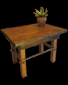 Table en bois recyclé
